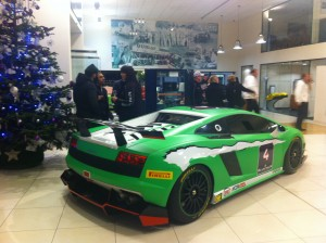 Super Trofeo Car at Lamborghini Birmingham event