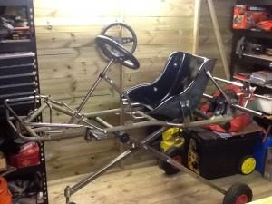 Sabre chassis rebuild.